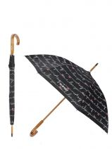 Umbrella Isotoner les cannes 9218-vue-porte