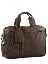 Porte Documents 1 Compartiment Cuir Cowboysbag vegetal 1310
