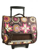 Cartable A Roulettes Rip curl vintage flower LBP4GM