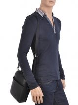 Messenger Bag Francinel Black london city 652011-vue-porte