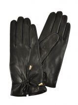 Gants Omega Noir soie M15
