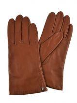 Gloves Isotoner Brown gant 68285