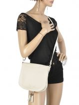 Hobo Bag  Leather Milano Beige 145-vue-porte