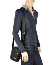 Messenger Bag Eastpak Black K045-vue-porte