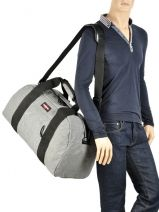 Travel Bag Authentic Luggage Eastpak Gray authentic luggage - 0000K070-vue-porte