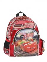 Sac A Dos 1 Compartiment Cars Rouge formula racers 22216