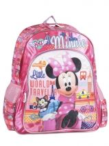 Backpack Minnie Pink little world traveler 36110