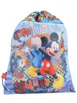 Sac A Dos 1 Compartiment Mickey Multicolore turn up 50428