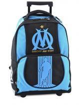 Sac A Dos A Roulettes Olympique de marseille Bleu om 141O204R