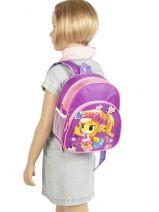 Sac à Dos 1 Compartiment Miniprix Violet girl 7701-FIL-vue-porte