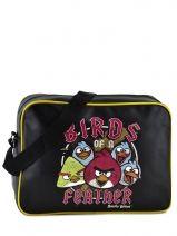 Sac Bandoulière Angry birds Noir agr AGR25354