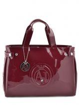 Shopping/cabas Vernice Lucida Verni Armani jeans Rouge vernice lucida 5291-55