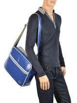 Sac Porté Travers Fred perry Bleu authentic L5251-vue-porte