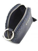 Purse Leather Etrier Beige tradition EHER902-vue-porte