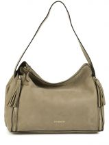 Sac � Main Beverly Light Gold Cuir Etrier Vert beverly light gold EBLG007