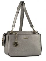Shoulder Bag Bryant Park Soft Leather Dkny Gray bryant park soft R4418805