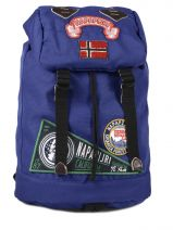 Backpack Napapijri Blue campus 5ANN6Q02