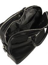 Laptop Brief Guess Black myself nylon 1915NYL5-vue-porte