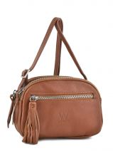 Sac Bandouliere Porte Travers Crazy Cuir Woomen Marron crazy WVCR001