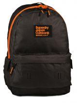 Sac A Dos 1 Compartiment Superdry Noir backpack U91KG001