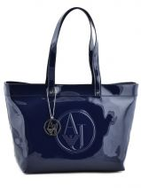 Shopping/cabas Vernice Lucida Verni Armani jeans Bleu vernice lucida 525A-RJ
