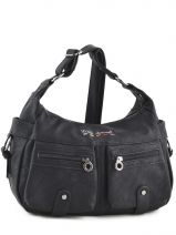 Sac Bandouli�re City Little marcel Noir city CHAMPI