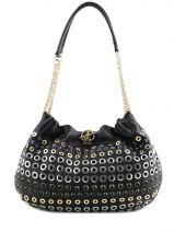 Hobo Bag Domino Leather Sonia rykiel Black domino 4149-75
