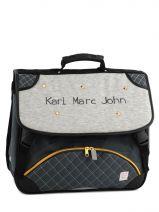 Satchel 2 Compartments Karl marc john Gray star 632936