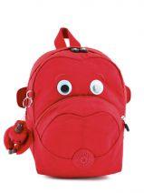 Backpack Mini Kipling Red back to school 8568