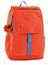 Backpack 2 Compartments Kipling Orange back to school 15377