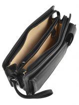 Messenger Bag 2 Compartments Etrier Black 22239-vue-porte