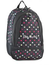 Sac A Dos 2 Compartiments Little marcel Noir scolaire REGAL