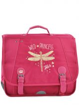 Cartable 2 Compartiments Ikks Rouge dragon fly 4DFCA41