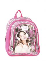 Backpack 1 Compartment Violetta Multicolor music PL10VI14