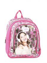 Backpack 1 Compartment Violetta Multicolor music PL10VI14