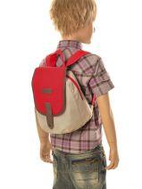 Sac Gouter 1 Compartiment Kickers Multicolore pre kids garcon 502310-vue-porte