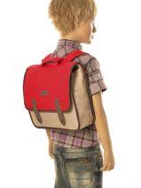 Satchel 1 Compartment Kickers Multicolor pre kids garcon 502330-vue-porte
