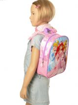 Backpack Princess Pink smile 13607-vue-porte