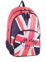 Sac A Dos 2 Compartiments Pepe jeans Multicolore bonny girl 60224