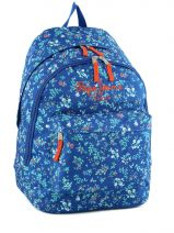 Sac A Dos 2 Compartiments Pepe jeans Blue vicky 60324