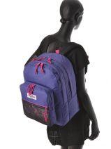Backpack 2 Compartments Eastpak Violet k060-vue-porte