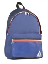 Sac A Dos 1 Compartiment Le coq sportif Bleu frenchie COV12006