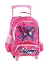 Sac A Dos A Roulettes Miniprix Rose girl 138-12
