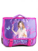 Cartable 2 Compartiments Violetta Violet this is me 724825