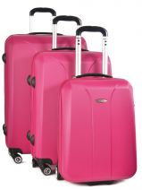 Luggage Set Hardside Building Travel Pink building IG1302