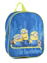 Backpack 1 Compartment Minions Blue le buddies 99247ASF