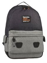 Backpack 1 Compartment Superdry Blue backpack U91LC009