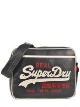 Crossbody Bag A4 Superdry Black alumini U91LC015