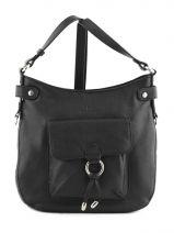 Shoulder Bag Confort Leather Hexagona Black confort 465005