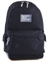 Sac A Dos 1 Compartiment Superdry Noir backpack G91LD000